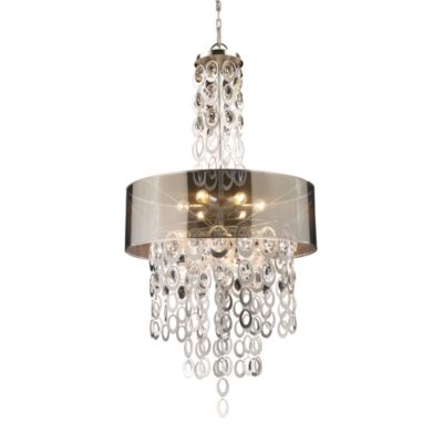 ELK Lighting Parisienne 6-Light Pendant in Silver Leaf