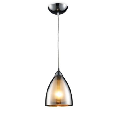 ELK Lighting Reflections 1-Light Pendant in Polished Chrome