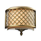 Chester 1-Light Sconce In Brushed Antique Brass
