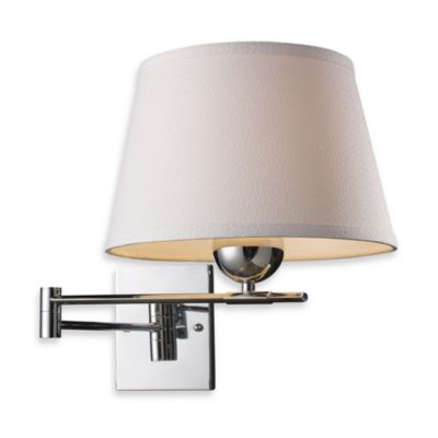 ELK Lighting Lanza 1-Light Swing Arm Sconce in Polished Chrome