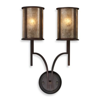 ELK Lighting Barringer 2-Light Sconce in Aged Bronze