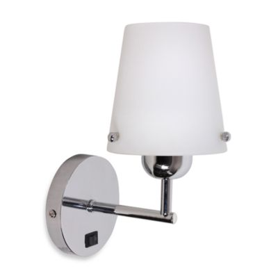 Wall Sconces Bed Bath And Beyond : Buy Catalina Chrome Arm Plug- in Wall Sconce from Bed Bath & Beyond