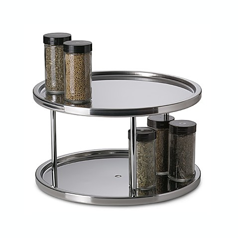 Stainless Steel Two Tier Turntable Bed Bath Amp Beyond