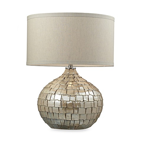 Dimond Lighting Canaan Table Lamp in Cream Pearl Finish