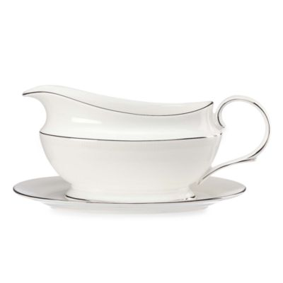 Lenox® Tribeca® Gravy Boat and Stand Set