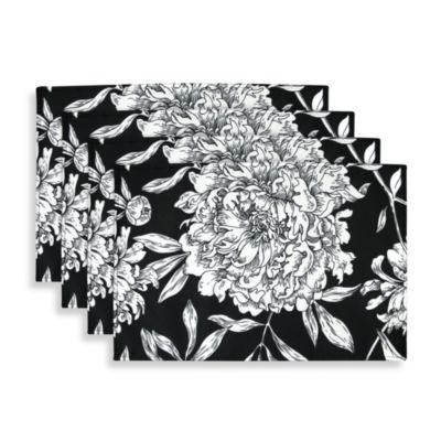 Park B. Smith® Watershed® Peony Placemats (Set of 4)