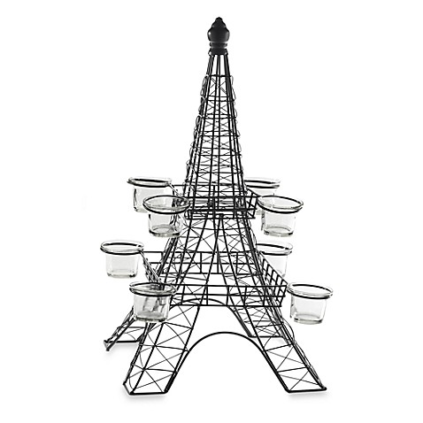 Terra 20-Inch Eiffel Tower Tea Light Holder