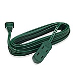 15-Foot Green Holiday Extension Cord