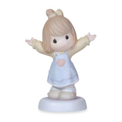 Precious Moments® I Love You This Much Girl Porcelain Figurine