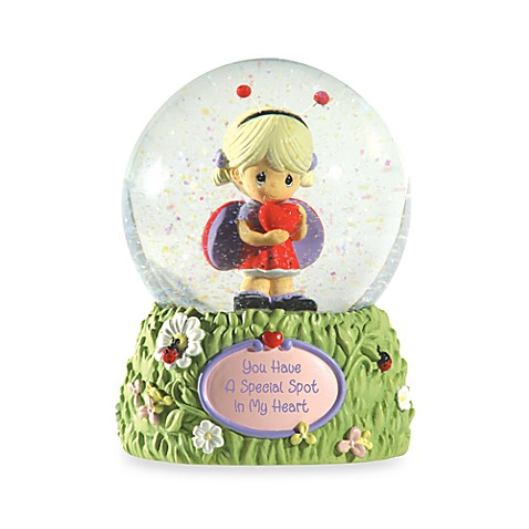 Precious Moments™ You Have A Special Spot In My Heart Musical Water Globe