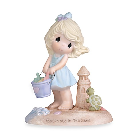 Precious Moments™ Footprints In The Sand Girl Porcelain Figurine