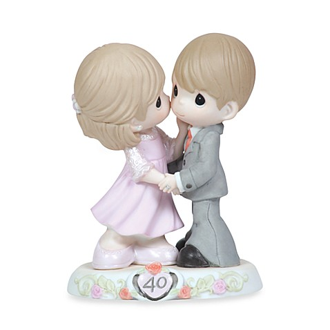 Precious Moments® Sweeter As The Years Go By 40th Anniversary Porcelain Figurine