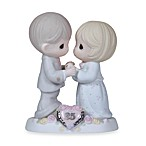 Precious Moments®  Our Love Still Sparkles in Your Eyes 25th Anniversary Figurine