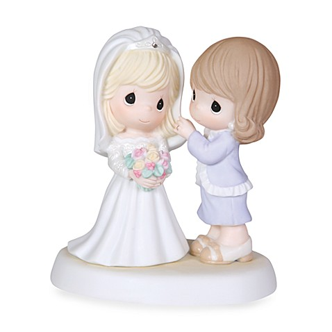 Precious Moments™ My Daughter, My Pride, Such A Beautiful Bride Porcelain Figurine