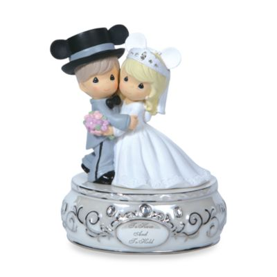 Precious Moments® Disney Wedding Couple Musical Figurine