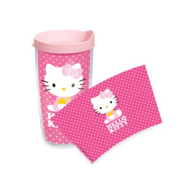 Tervis® Hello Kitty® 16-Ounce Dots Wrap Tumbler with Pink Lid