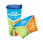Tervis® Swim Bike Run Wrap 24-Ounce Tumbler with Lid