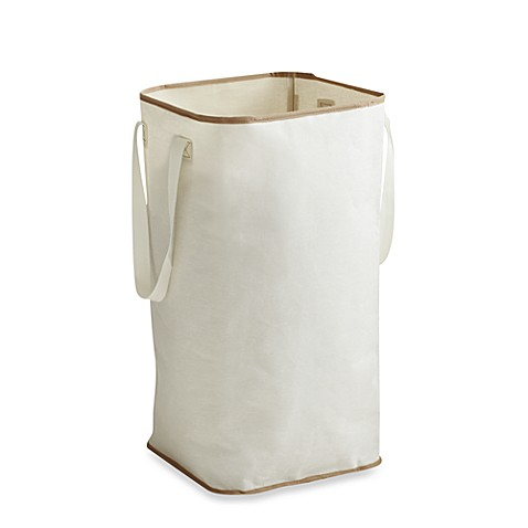 The laundry shop real simple collapsible hamper from buy buy baby - Collapsible clothes hamper ...