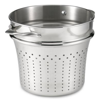 Calphalon® Contemporary 8-Quart Stainless Steel Pasta Insert