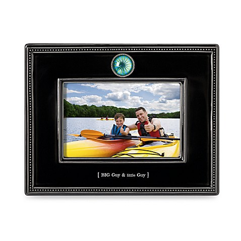 Big Guy & Little Guy Ceramic 4-Inch x 6-Inch Frame