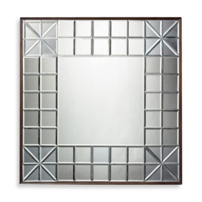 Dimond Lighting Gatsby Contemporary Mirror in Clear Bronze