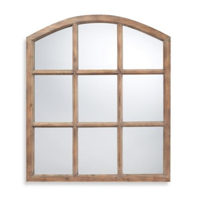 Dimond Lighting Union Mirror with Natural Oak Finish