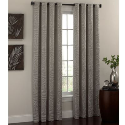 Zahara 84-Inch Window Panel in Silver