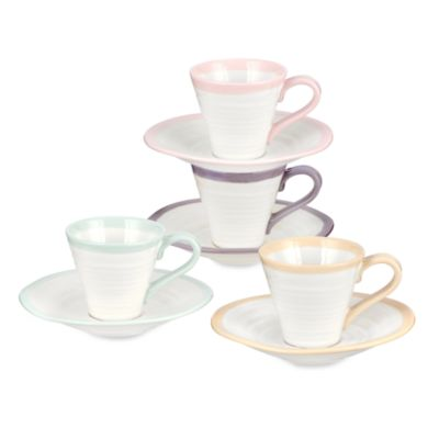 Sophie Conran for Portmeirion® Carnivale Espresso in (Set of 8)