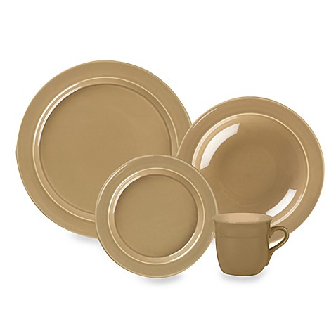 Emile Henry 4-Piece Place Setting in Sand