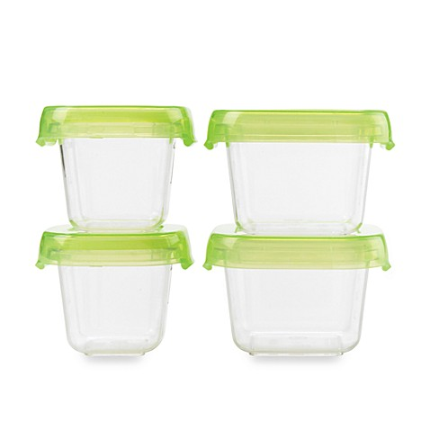 OXO Good Grips® 4-Piece Mini-LockTop Container Set