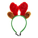 Pet Holiday Antler Headband