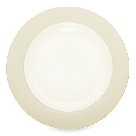 Noritake® Colorwave Rim Dinner Plate in Cream
