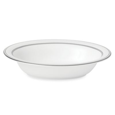 Vera Wang Wedgwood® Radiante Formal 9 3/4-Inch Oval Vegetable Bowl