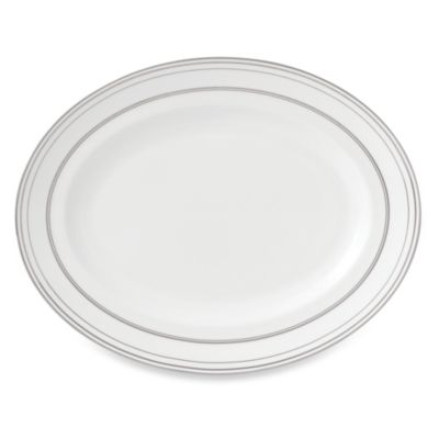 Vera Wang Wedgwood® Radiante Formal 13 3/4-Inch Oval Platter