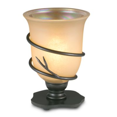 Kenroy Home Twigs Table Torchiere Lamp in Bronze