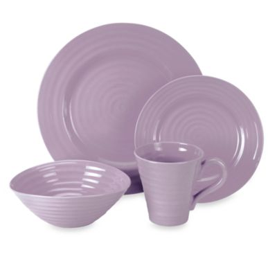 Sophie Conran for Portmeirion® Mulberry 4-Piece Place Setting