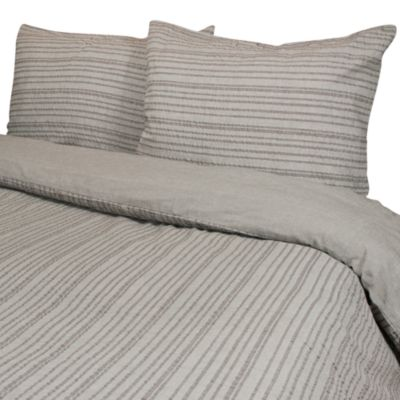 Park B. Smith® Weston King Mini Duvet Cover Set in Mocha