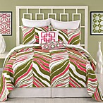 Trina Turk Tiger Leaf Coverlet, 100% Cotton