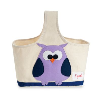 3 Sprouts Caddy Tote in Owl