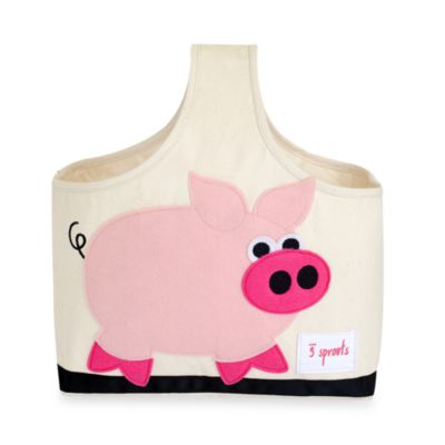 3 Sprouts Caddy Tote in Pig
