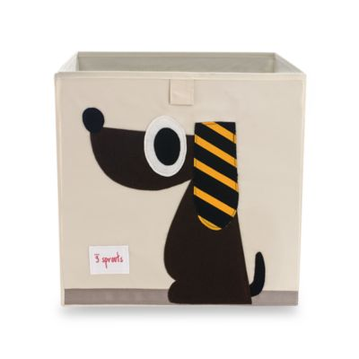 3 Sprouts Storage Box in Dog