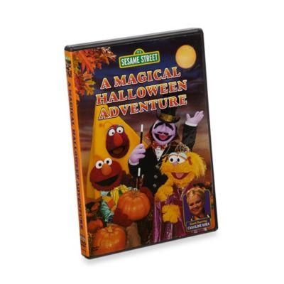 Sesame Street® A Magical Halloween Adventure DVD