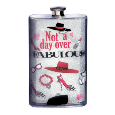 Not a Day Over Fabulous 5-Ounce Flask