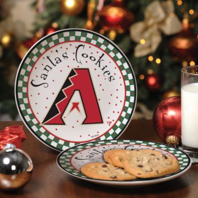 Arizona Diamondbacks Santa Cookie Plate