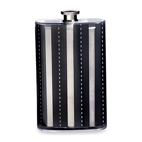 Flask Stripes 5-Ounce Flask