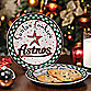 Houston Astros Santa Cookie Plate