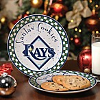 Tampa Bay Rays Santa Cookie Plate