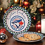 Toronto Blue Jays Santa Cookie Plate