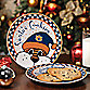 Auburn University Santa Cookie Plate