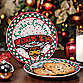 University of Texas Santa Cookie Plate